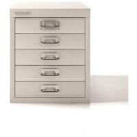 Bisley SoHo Multidrawers 5-Drawers 51mm Drawer Height Chalk White