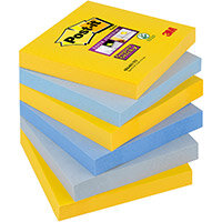 Post-it Super Sticky Notes New York 76x76mm Ref 654-6SS-NY Pack of 6