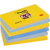 Post-it Super Sticky Notes New York 76x127mm Ref 655-6SS-NY Pack of 6