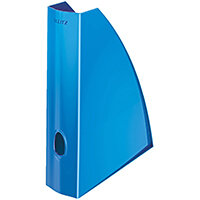 Leitz WOW Magazine File A4 Metallic Blue Ref 52771036