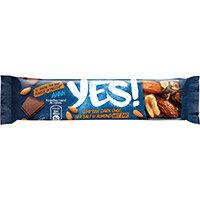 YES Dark Chocolate Seat Salt & Almond Nut Bar 32g Ref 12403827 Pack of 24