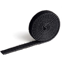 Durable CAVOLINE GRIP 10 Self Gripping Cable Management Tape Black Ref 503101