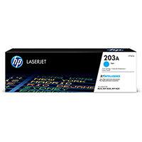 HP 203A Yield: 1,300 Pages Original LaserJet Toner Cartridge Cyan Ref CF541A