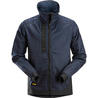 Snickers 1549 AllroundWork, Unlined Jacket Navy - Black Size: S