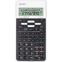 Sharp Scientific EL-W531 Calculator 335 Functions White Ref SH-EL531THBWH