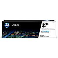 HP 203X Yield: 3,200 Pages High Yield Black Original LaserJet Toner Cartridge Ref CF540X