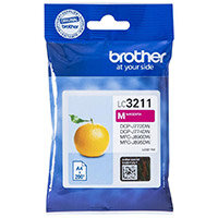 Brother LC3211M Yield: 200 Pages Magenta Ink Cartridge