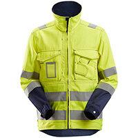 Snickers 1633 High-Vis Jacket Class 3 Size M Regular Yellow & Navy