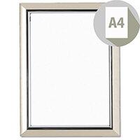 Deluxe A4 Silver Certificate Frame Non-Glass Photo Album Company