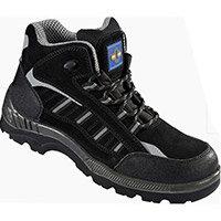 Rock Fall ProMan Boot Size 7 Suede Fibreglass Toecap Black