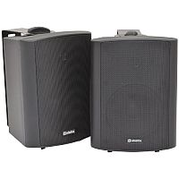 """Adastra 170.166 - Stereo Active Speakers Set - 5.25"""" Driver - 2x30W RMS Power - Wallmount or Standalone - LED Indicator - RCA Plug - Mounting Brackets Included"""
