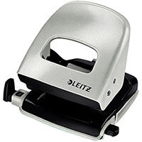 Leitz Punch Medium Duty Pearl White Ref 4010614