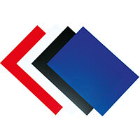 Fellowes Binding Covers 250gsm A4 Royal Blue Gloss Ref 5378203 Pack of 100