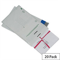 Ampac C3+ Protective Envelope Peel and Seal Opaque Pack of 20