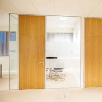 Glazed Office Partitioning Project: 1E Office Fitout
