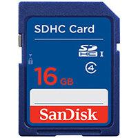 SanDisk Standard - flash memory card - 16 GB - SDHC
