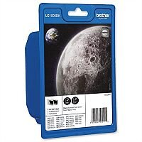 Brother LC-1000BK Black Ink Cartridge Pack of 2 LC1000BKBP2