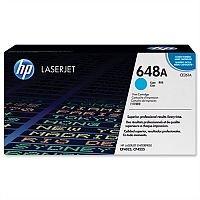 HP 648A Cyan LaserJet Toner Cartridge CE261A