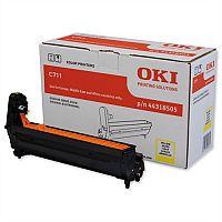 OKI 44318505 Laser Image Drum Unit Yellow For C711