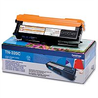 Brother TN-320C Cyan Laser Toner Cartridge TN320C