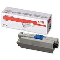 OKI 44469803 Black Standard Yield Toner Cartridge - outstanding print quality and reliability from your OKI laser printer - for C300 and C500 series along With MC300 and MC500 series