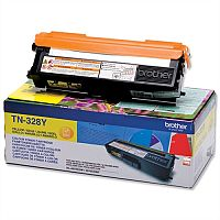 Brother TN328Y Yellow Super High Yield Laser Toner Cartridge