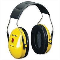3M Optime I Headband Ear Defenders Noise Level Reduction 26dB Yellow - Lightweight for user comfort - Highly visible for your added safety - Approved to EN352-1 for overhead wear