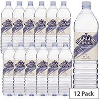Highland Spring Mineral Still Water 1.5 Litre Pack 12