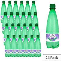 Highland Spring Sparkling Mineral Water Bottle 500ml Pack 24