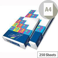 Color Copy Super Smooth Copier Paper A4 200gsm White 250 Sheets