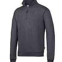 Snickers 2818 ½ Zip Sweatshirt Steel Grey