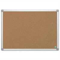 Bi-Office Earth-it Cork Notice Board with Aluminium Frame 900 x 600mm CA031790