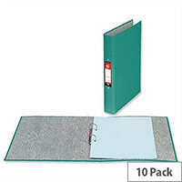A4 Green Ring Binders 2 O-Ring Size 25mm Pack 10 5 Star