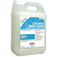 2Work Body & Hair Wash Fresh Coconut Fragrance 5L (Pack 1) 2W01072