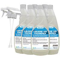 2Work Cologne Air Freshener 750ml Pack of 6 811