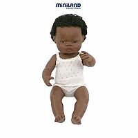 Male African Anatomical Doll