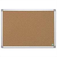 Bi-Office Cork Notice Board with Aluminium Frame 1200 x 900mm Earth-it CA51790