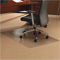 Chair Mat Rectangular for Carpet Protection 1200x1500mm Cleartex Ultimat