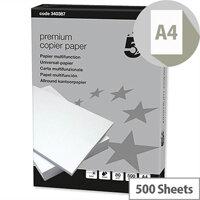 5 Star Premium Copier Paper A4 80gsm White 500 Sheets