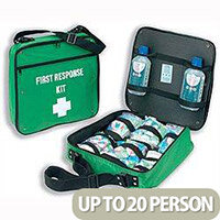 First Aid Kit Portable Wallace Cameron First Response Bag Up to 20 Person