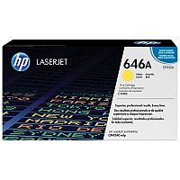 HP 646A Yellow LaserJet Toner Cartridge CF032A