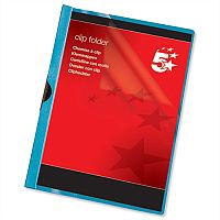 Clip Folder A4 Blue Pack 25 5 Star