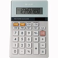 Sharp Desktop Calculator Battery Solar-power EL331ERB