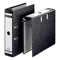Leitz Suspension Lever Arch File 80mm Spine A4 Black Ref 1821-00-95 Pack of 5