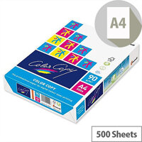 Color Copy A4 90gsm White Smooth Copier Paper Ream of 500 Sheets
