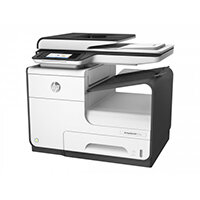 HP PageWide MFP 377dw - Multifunction printer - colour - ink-jet - Legal (216 x 356 mm) (original) - A4/Legal (media) - up to 45 ppm (copying) - up to 45 ppm (printing) - 500 sheets - 33.6 Kbps - USB 2.0, LAN, Wi-Fi(n), NFC, USB 2.0 host