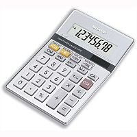Sharp Desktop Calculator Euro Battery Solar-power EL330ERB