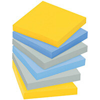 Post-it Super Sticky 76 x 76mm New York Pack of 6 654-SS-NY