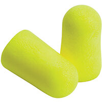 3M Earsoft Yellow Neon Earplugs Uncorded Pack of 1000 7100111802