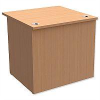 Rectangular Reception Desk W800xD800xH740mm Beech Ashford